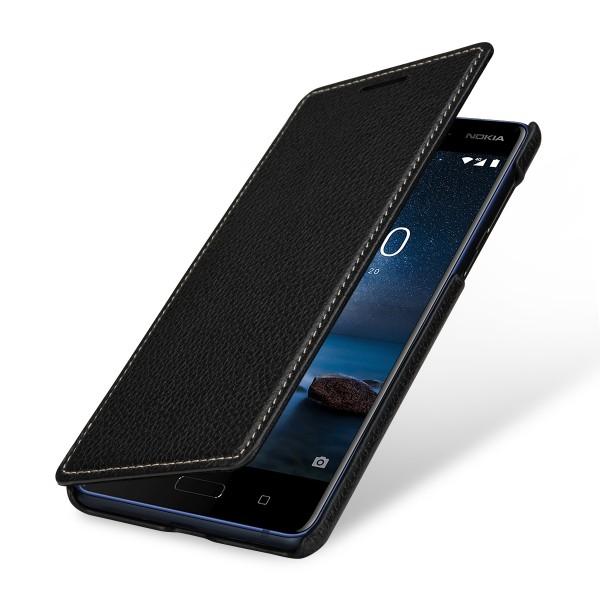 StilGut - Nokia 8 Case Book Type ohne Clip