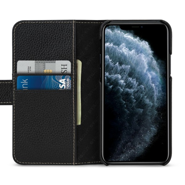 StilGut - iPhone 11 Pro Flip Cover Talis mit Kartenfach