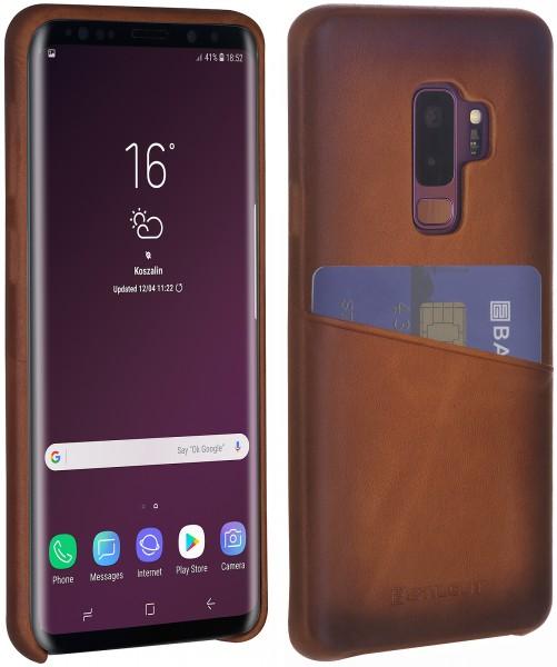 StilGut - Samsung Galaxy S9+ Cover mit Kartenfach