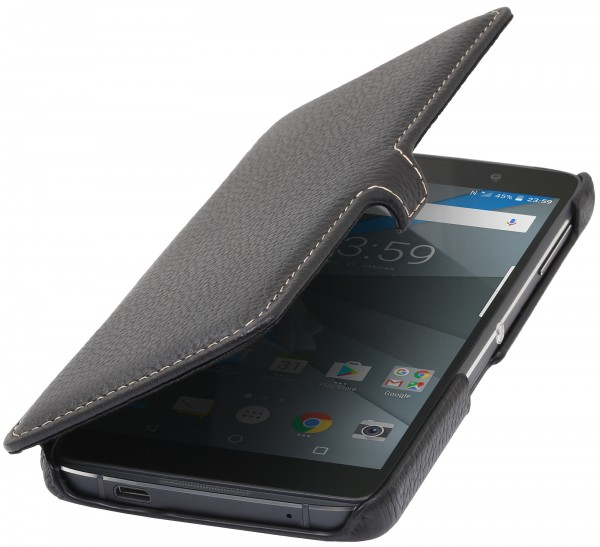 StilGut - BlackBerry DTEK50 Tasche Book Type mit Clip