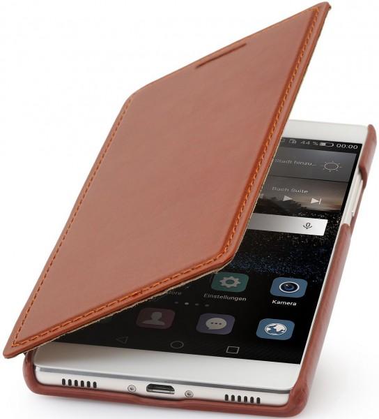 """StilGut - Handyhülle für Huawei P8 """"Book Type"""" ohne Clip"""