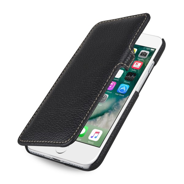 StilGut - iPhone 8 Tasche Book Type mit Clip