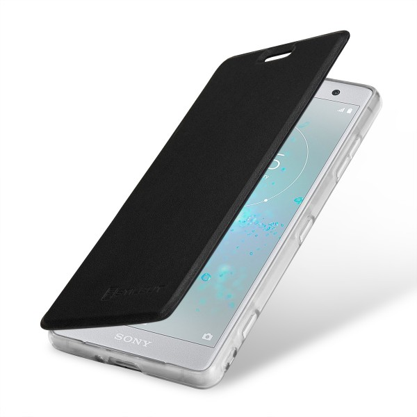 StilGut - Sony Xperia XZ2 Compact Book Type NFC/RFID Blocking Hülle