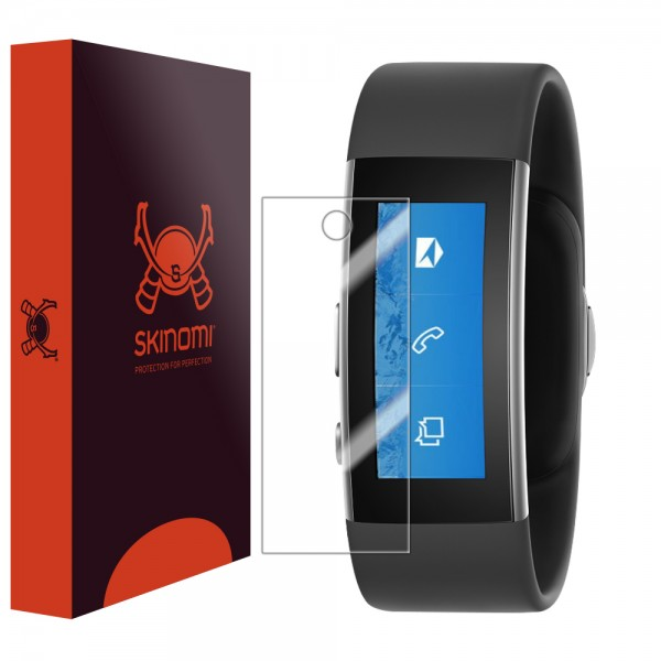 Skinomi - Displayschutzfolie Microsoft Band 2 TechSkin (6er Pack)