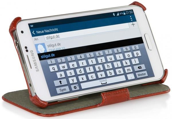 StilGut - UltraSlim Case V2 mit Standfunktion für Samsung Galaxy S5