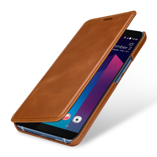 StilGut - HTC U11+ Case Book Type ohne Clip