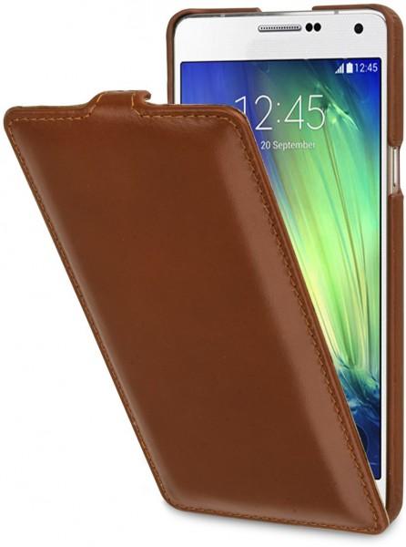 "StilGut - Handyhülle für Galaxy A7 ""UltraSlim"" aus Leder"