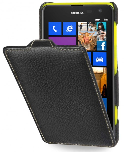 StilGut - UltraSlim Case für Nokia Lumia 625 aus Leder