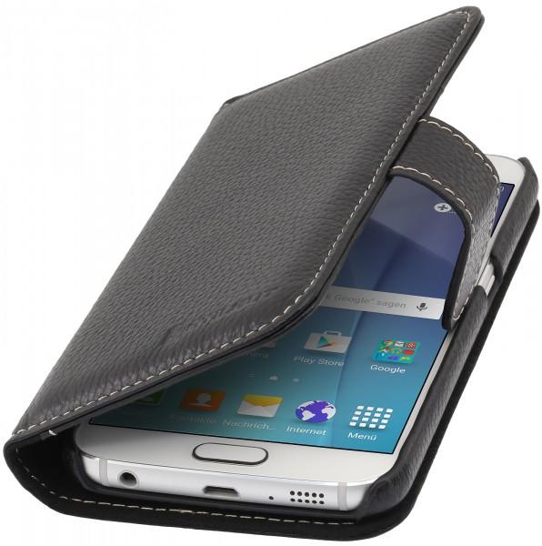 StilGut - Samsung Galaxy S6 Hülle Talis mit Kreditkartenfach aus Leder