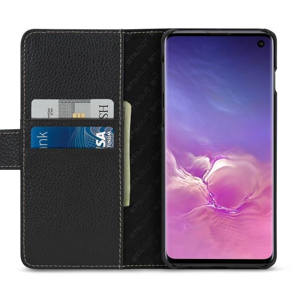 StilGut - Samsung Galaxy S10 Hülle Talis mit Kartenfach