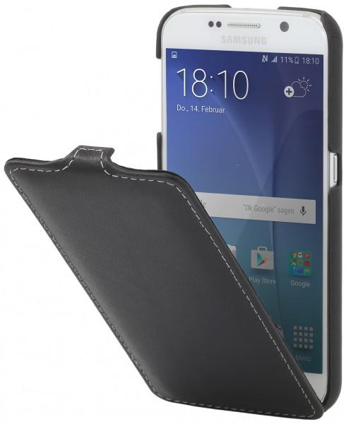 """StilGut - Handyhülle für Galaxy S6 """"UltraSlim"""" aus Leder"""
