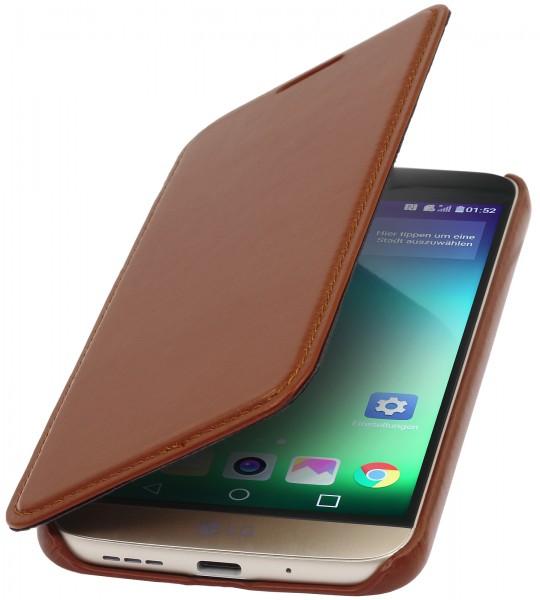 StilGut - LG G5 Case Book Type aus Leder ohne Clip