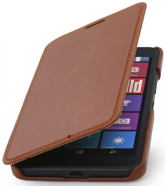 """StilGut - Handyhülle für Lumia 640 XL """"Book Type"""" ohne Clip"""