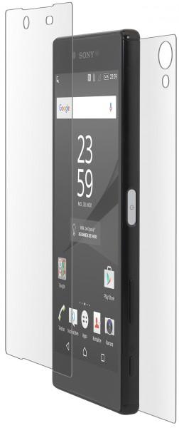 StilGut - Panzerglas Sony Xperia Z5 Premium Vorder- und Rückseite
