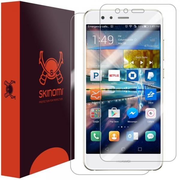 Skinomi - Displayschutzfolie Huawei P10 lite Vorder- und Rückseite
