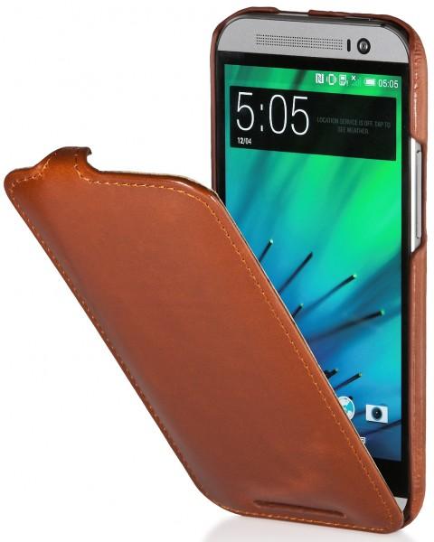 StilGut - UltraSlim Case für HTC One M8 / M8s aus Leder