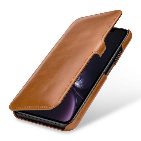 StilGut - iPhone XR Tasche Book Type mit Clip