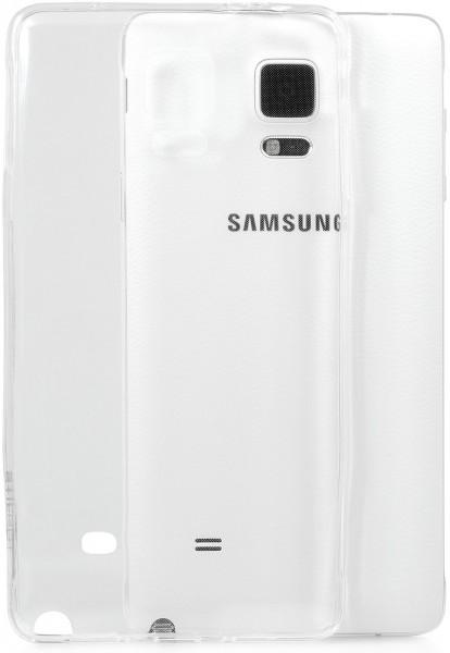 StilGut - Ghost, Schutzhülle inkl. Schutzfolie für Galaxy Note 4