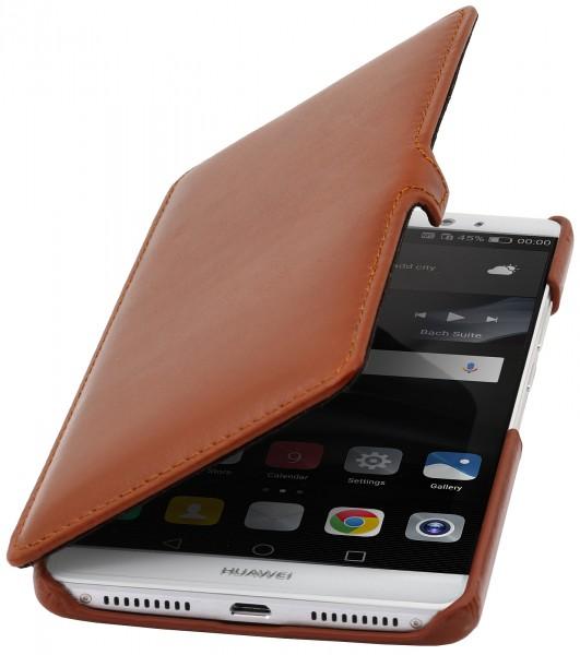 StilGut - Huawei Mate 8 Tasche Book Type aus Leder mit Clip