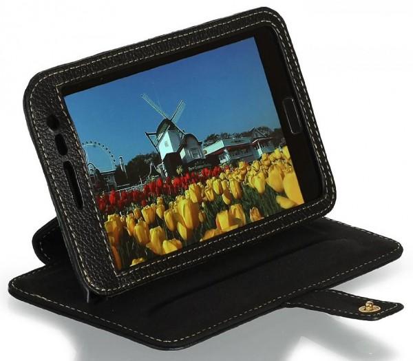 StilGut - Tasche mit Standfunktion für Galaxy Note N7000