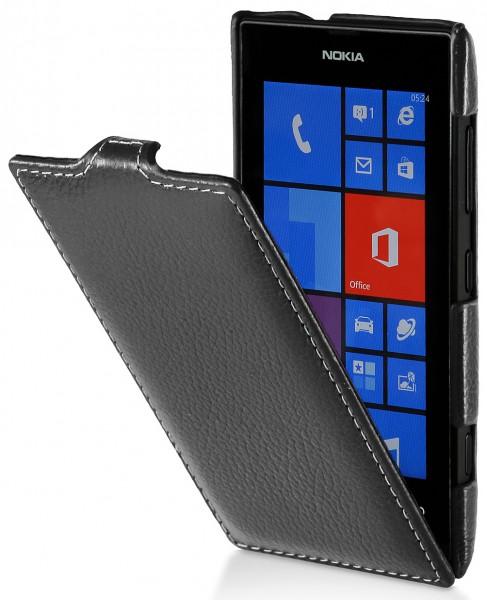 StilGut - UltraSlim Case für Nokia Lumia 520 aus Leder