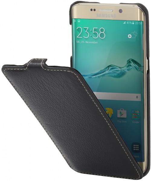 """StilGut - Handyhülle für Galaxy S6 edge+ """"UltraSlim"""" aus Leder"""