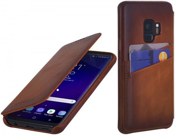 StilGut - Samsung Galaxy S9 Tasche Book Type mit Kartenfach
