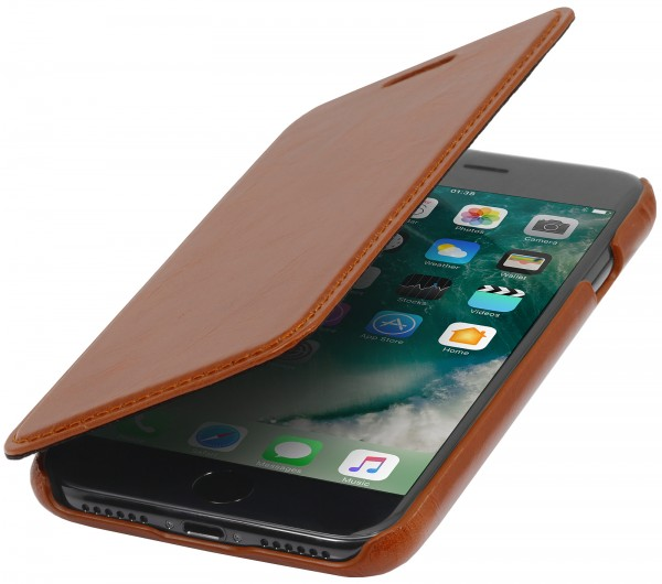 StilGut - iPhone 7 Case Book Type ohne Clip