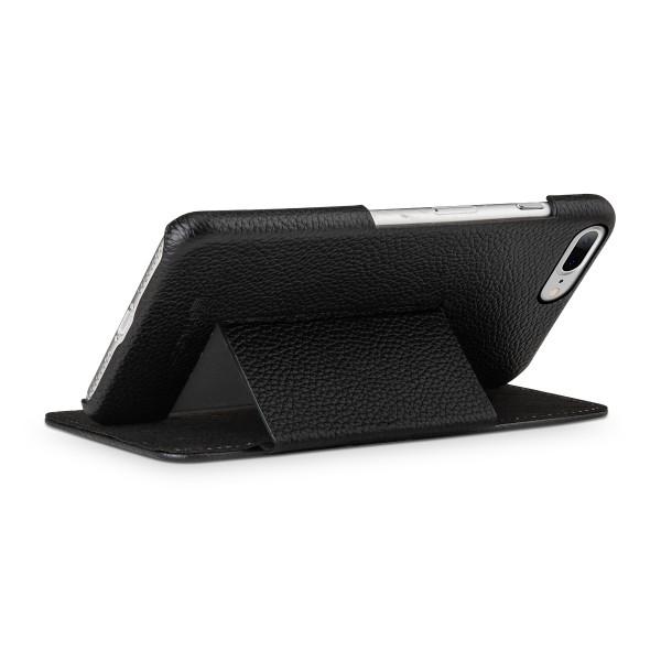 StilGut - iPhone 8 Plus Tasche Book Type mit Standfunktion