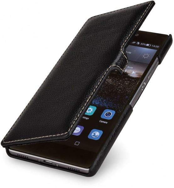 """StilGut - Handyhülle für Huawei P8 """"Book Type"""" mit Clip"""