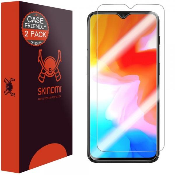 Skinomi - OnePlus 6T Displayschutzfolie (2er Pack)