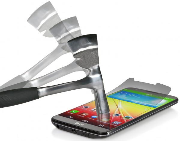 """StilGut - Displayschutzfolie """"Panzerglas"""" für LG G2"""