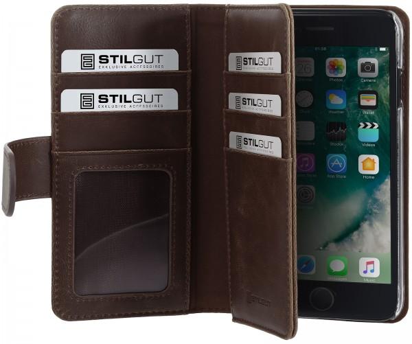 StilGut - iPhone SE Hülle Talis XL mit Kartenfach