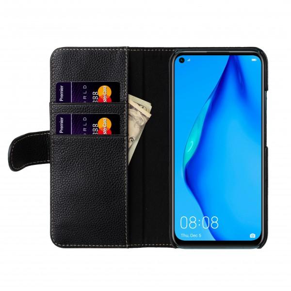 StilGut - Huawei P40 lite Flip Cover Talis mit Kartenfach