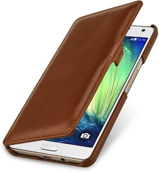 """StilGut - Handyhülle für Galaxy A7 """"Book Type"""" mit Clip"""
