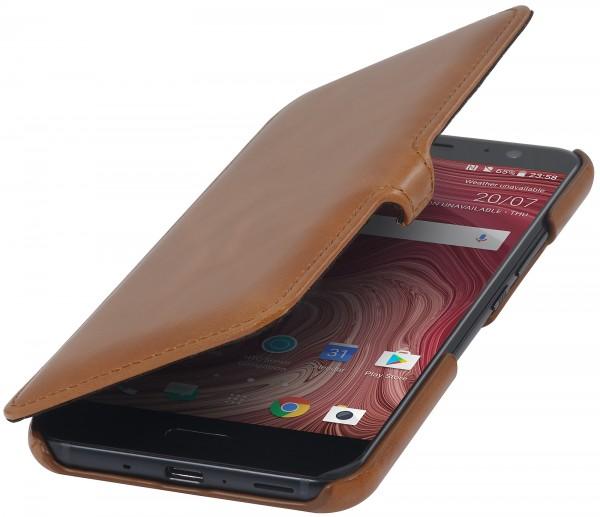 StilGut - HTC U 11 Tasche Book Type mit Clip