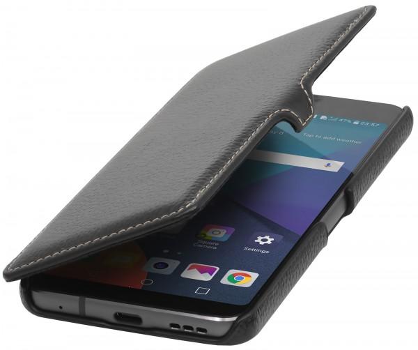 StilGut - LG G6 Tasche Book Type mit Clip
