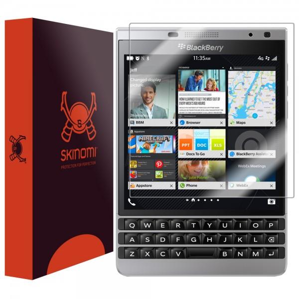 Skinomi - Displayschutzfolie BlackBerry Passport Silver Edition TechSkin