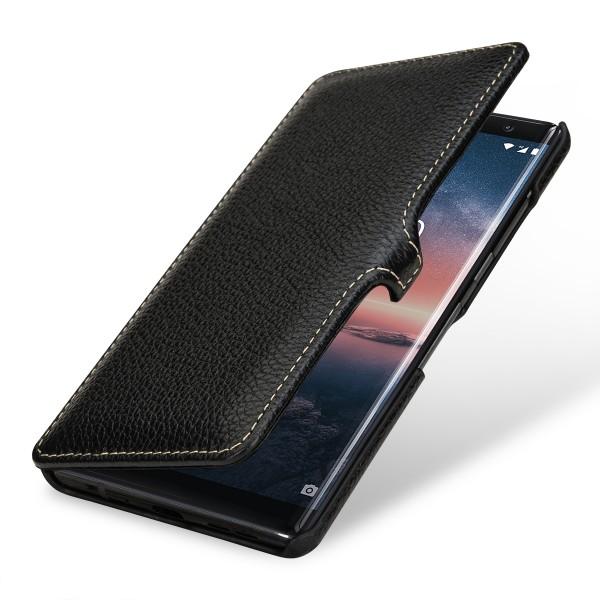 StilGut - Nokia 8 Sirocco Tasche Book Type mit Clip