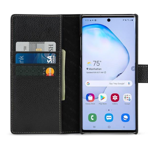 StilGut - Samsung Galaxy Note 10 Plus Hülle Talis mit Kartenfach