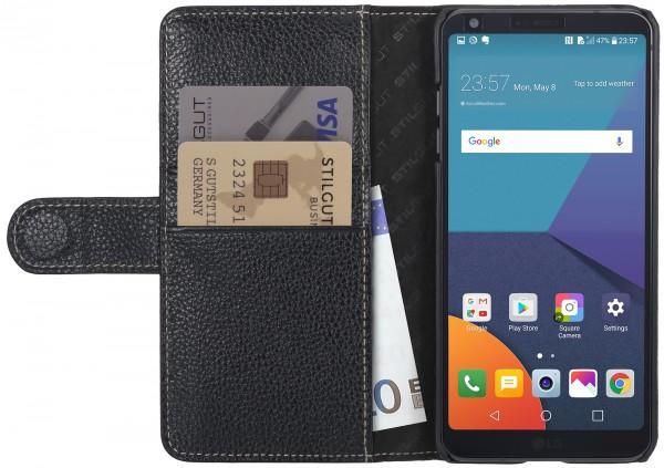 StilGut - LG G6 Hülle Talis mit Kreditkartenfach