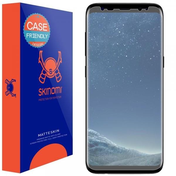 Skinomi - Displayschutzfolie Samsung Galaxy S8 MatteSkin