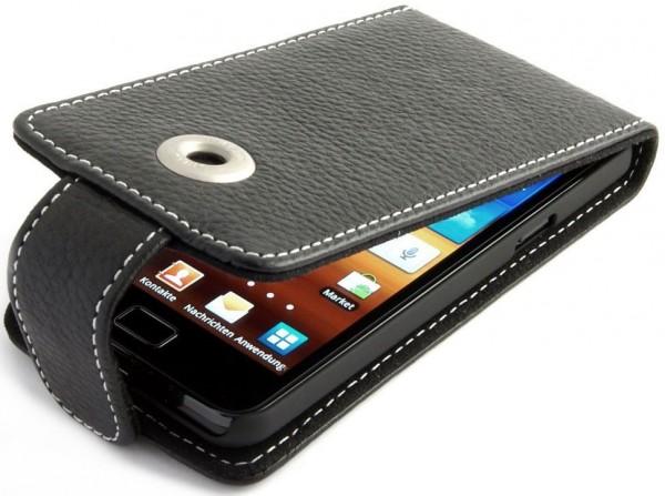 StilGut - Ledertasche für Samsung Galaxy S I9000 & i9001