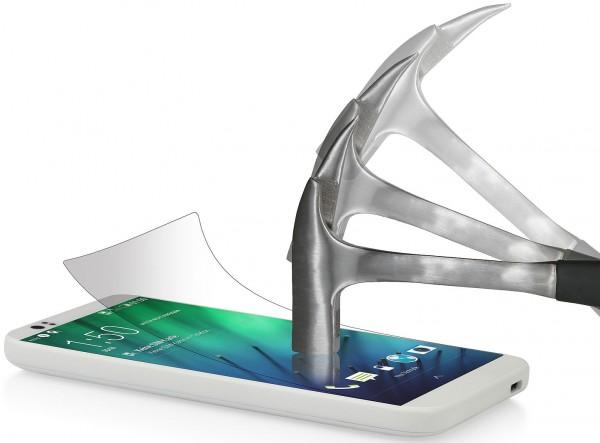 StilGut - Displayschutzfolie Panzerglas für HTC Desire 510 (2er-Pack)