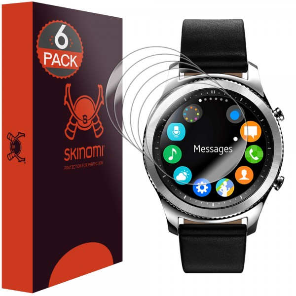 Skinomi - Displayschutzfolie Samsung Gear S3 classic