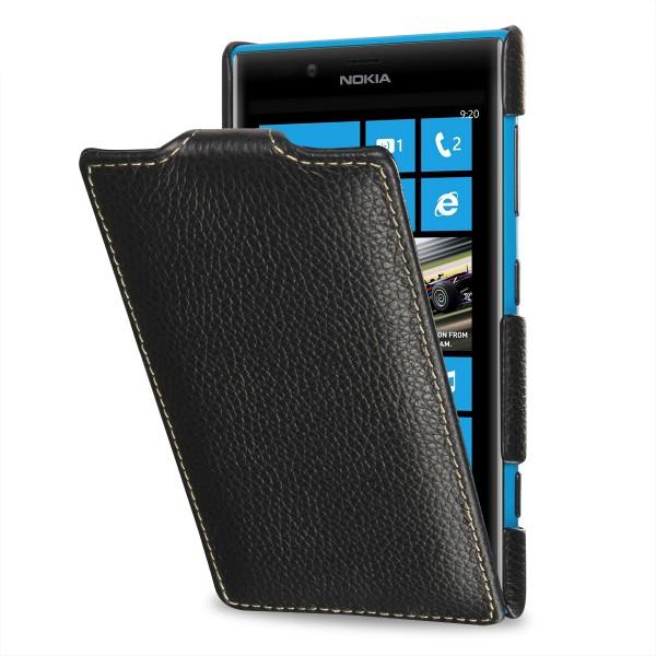 StilGut - UltraSlim Case für Nokia Lumia 720 aus Leder