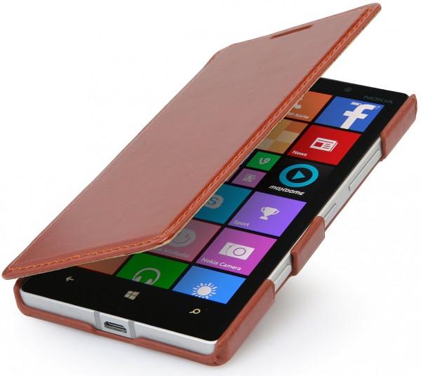 "StilGut - Ledertasche ""Book Type"" für Nokia Lumia 930"