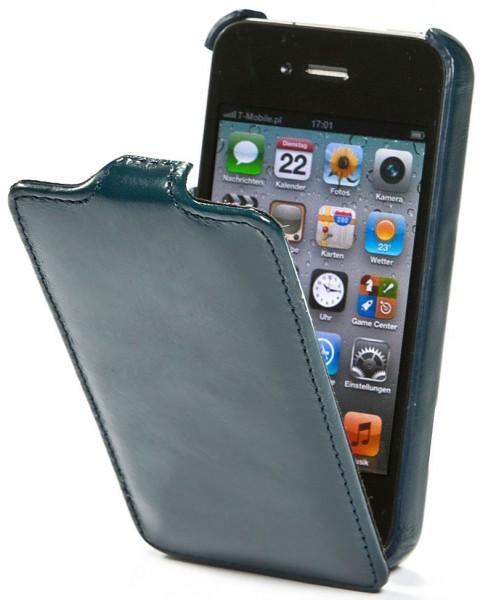 StilGut - UltraSlim Case für iPhone 4 & iPhone 4s aus Leder