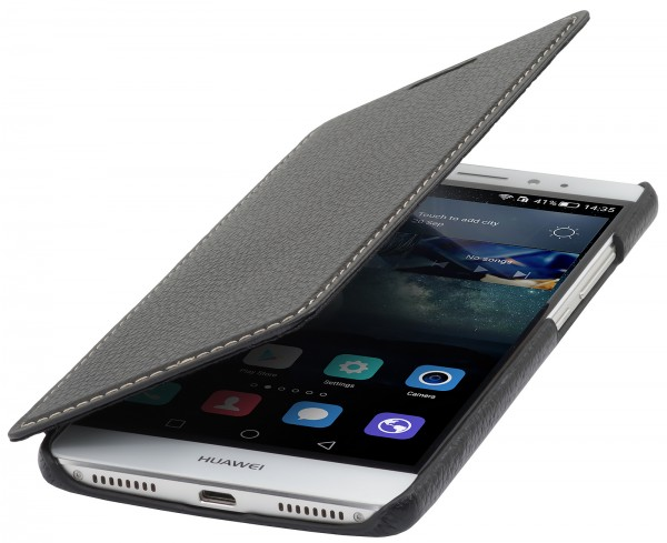 StilGut - Huawei Mate S Case Book Type aus Leder ohne Clip