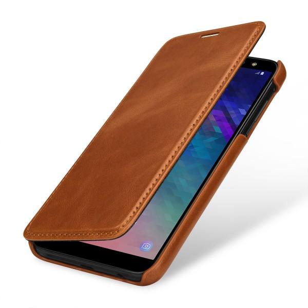 StilGut - Samsung Galaxy A6 (2018) Case Book Type ohne Clip